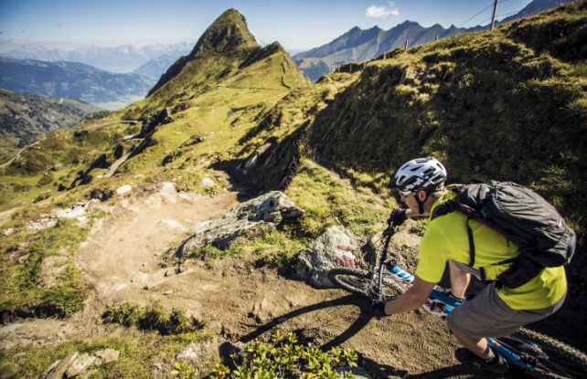 Mountain biking & road cycling around the sports region of Zell am See-Kaprun